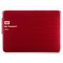 HD Externo Western Digital WDBZFP0010BRD 1TB My Passport Ultra Vermelho