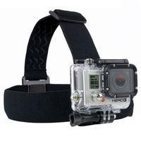 Fita Para Capacete Para Câmeras GoPro Driftin DGP-304B Preta