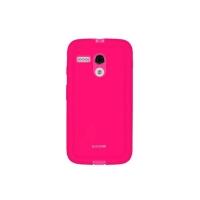 Capa para Motorola Moto G Icover Mycover Colors com Película Protetora Pink