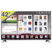Smart TV LED 3D 42'' LG WiFi Integrado + 4 Óculos 3D 42LB6500