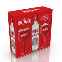 Kit Gin Beefeater Dry 750Ml + 2 Taças