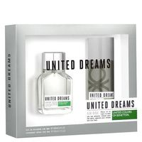 Kit United Dreams Aim High Benetton Eau de Toilette Masculino 100 ml