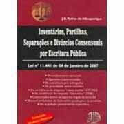 Inventários , Partilhas , Separações e Divórcios Consensuais Por Escrita Pública