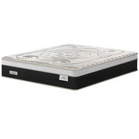 Colchão Casal Plumatex Mystique com Pillow In e Molas Superlastic Preto e Bege 34X138X188cm