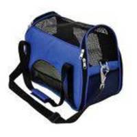 Bolsa para Transporte em Nylon Atenas n°1 Azul P - São Pet (40x20x30cm)