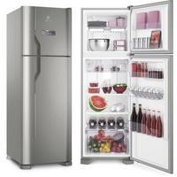 Refrigerador Electrolux Frost Free DFX41 371 Litros Inox