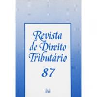 Revista de Direito Tributário Ed.87