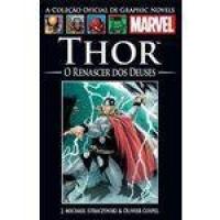 Coleção Oficial De Graphic Novels Nº 52 - Thor - O Renascer Dos Deuses