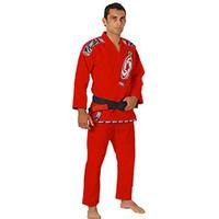 Kimono Jiu Jitsu Ippon Série Pro Vermelho