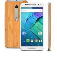 Smartphone Motorola Moto X Style XT1572 3ª Geração Desbloqueado GSM Dual Chip Android 5.1 32GB Branco e Bambu