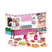 Barbie Massinha De Modelar Food Truck Doceria E Delícias Fun Diversos