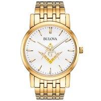 Relógio Bulova Maçonaria WB21669HM