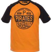 8d66715a099fa Camiseta New Era Logo Ball Pittsburgh Pirates Masculina Laranja ...