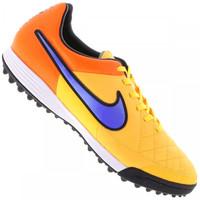 4e5b55c22b Chuteira Society Nike Tiempo Legacy TF Laranja Claro e Laranja