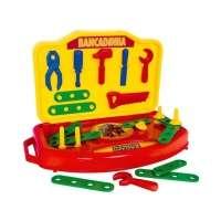 Bancadinha De Ferramentas Super Toys Heróis Da Toys Com Acessórios