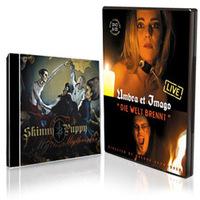 Umbra Et Imago Die Welt Brennt + CD Skinny Puppy Mythmaker Importado