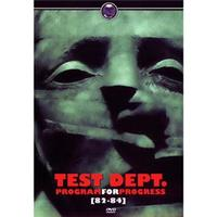 Test Dept. - Program For Progress (82-84) - Multi-Região / Reg. 4
