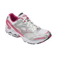 1fc42be2c8 Tênis Mizuno Wave Vitality 2 Feminino Branco Rosa e Prata Tam 37 ...