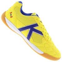 941d5fa1e1 Chuteira de Futsal Kelme 5C5 Masculina Amarela