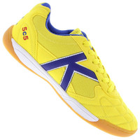 Chuteira de Futsal Kelme 5C5 Masculina Amarela  1a721bc69b933