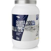 Suplemento Chá Mais Whey Protein Revitá 100% Concentrate Baunilha 900g
