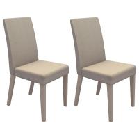 Kit 2 Cadeiras Madesa Ampliare Brenda Troia