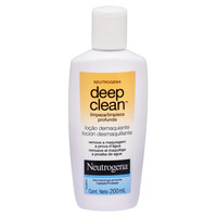 Loção Demaquiante Neutrogena Deep Clean 200ml