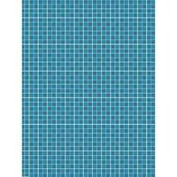 Toalha de Mesa Mainci Ladrilho Azul 1.20x1.60cm