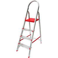 Escada Botafogo Lar&Lazer Suprema Alumínio 4 Degraus