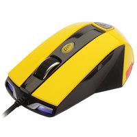 Mouse Gamer Dazz Thundera 2000 DPI USB Preto e Amarelo