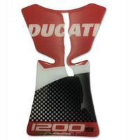 Adesivo Tank Pad Protetor Tanque Ducati Monster 1200s Red