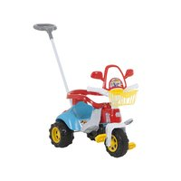Triciclo Infantil Magic Toys Zoom Max Haste Removível Azul