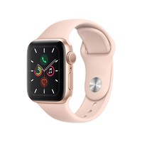 Apple Watch Series 5 40mm GPS Integrado Wi-Fi Pulseira Esportiva 32GB Dourado Rosa