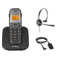 Telefone sem Fio Intelbras TS 5120 + Headset CHS 60 Intelbras