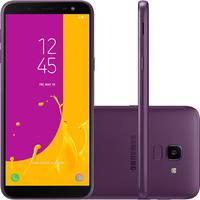 Smartphone Samsung Galaxy J6 SM-J600GT/3DL Desbloqueado GSM 64GB TV Digital Dual Chip Android 8.0 Violeta