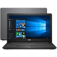 Notebook Dell Inspiron i15-3576-A70 Intel Core i7-8550U 8GB 2TB 1.8GHz LED 15,6 Windows 10 Cinza