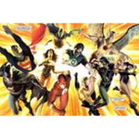 Painel Festa Liga da Justiça 02 150x100cm