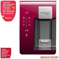 Máquina de Bebidas Brastemp B.blend Roxo