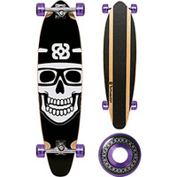Skate Multilaser Long Board Bob Burnquist Preto