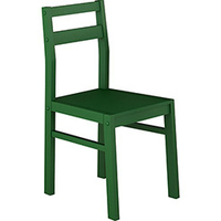 Cadeira Leblon Artsoli Móveis Verde