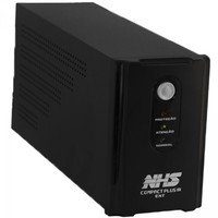 Nobreak NHS Compact Plus III Ext 1500VA 865W Bivolt 2x9Ah