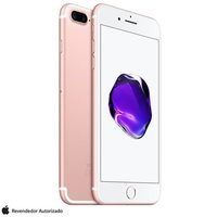 IPhone 7 Plus Apple 128GB Desbloqueado 4G 5.5 Ouro Rosa