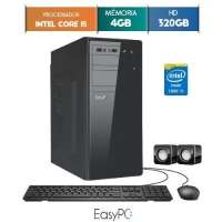 Computador Desktop Easypc 5635 Core I5 3.2GHz 4GB 320GB Windows 10