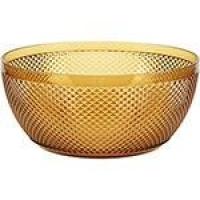 Bowl Grande em Acrílico 3800ml  Capri  Âmbar - La Cuisine