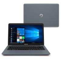 "Notebook Positivo Motion I3464A Intel Core i3-7020U 4GB 64GB 2.3GHz 14"" Windows 10 Cinza"