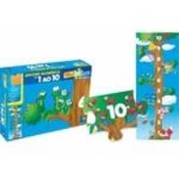 Quebra-Cabeça Árvore Numérica - Abc Brinquedos