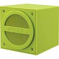 Caixa de Som Estéreo Bluetooth Emborrachado Verde iHome