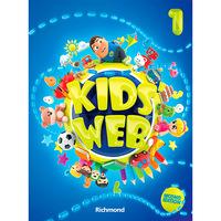 Kids Web 1 - Livro do Aluno + DVD-ROM + CD Áudio
