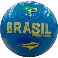 Bola Topper KV Brasil Campo Azul e Amarelo