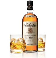 Whisky Allied Domecq Ballantines 12 Anos 1L